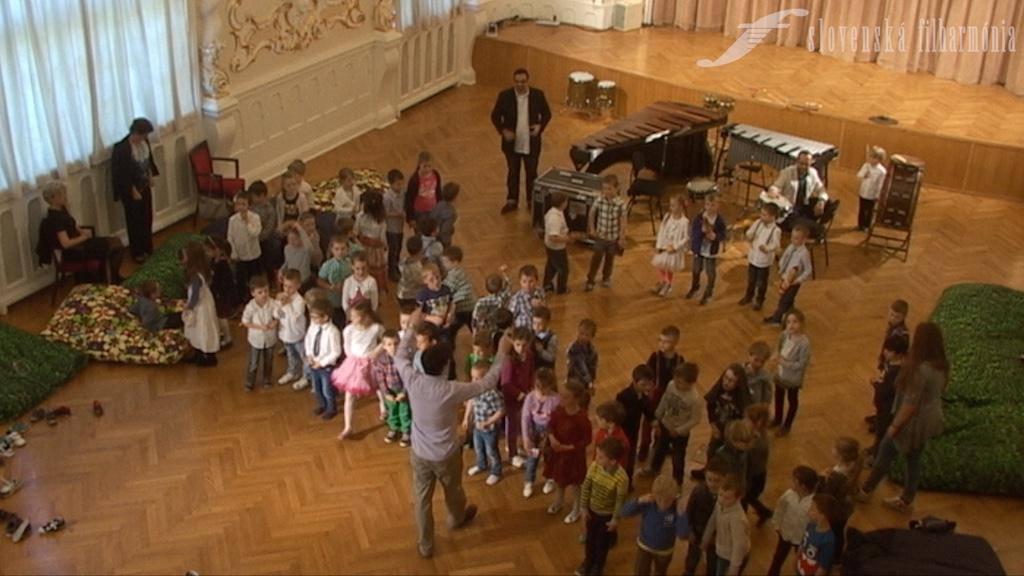 Slovenská filharmónia, cyklus HA (Hudobná akadémia), Filharmonická škôlka, záznam z 22. 4. 2016, 10.00 h., 8. minúta